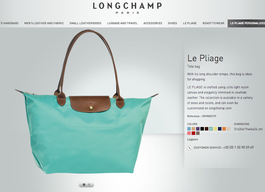 Le Pilage Tote by Longchamp